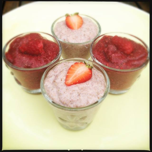 Detox Summer Chai Pudding