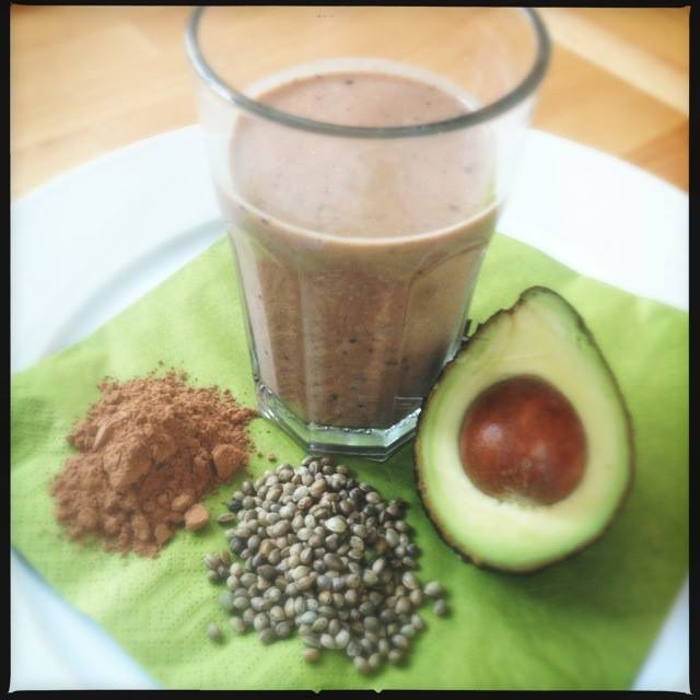 Heavenly Hemp Cacao Smoothie