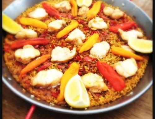 Monkfish Paella