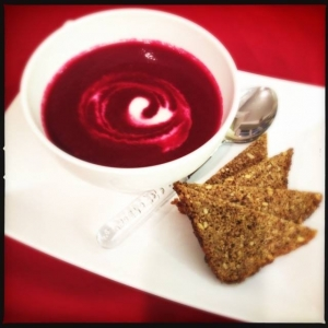 Autumn Detox Red Velvet Beetroot Soup Recipe