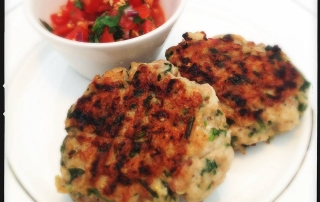 Summer Detox Thai Chicken Burger Recipe