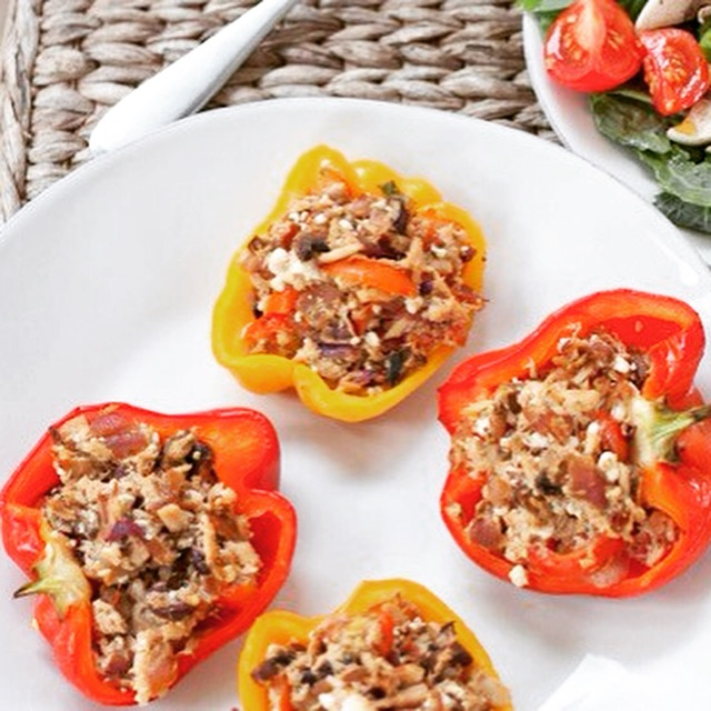 Tuna Stuffed Pepper
