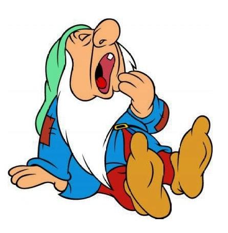 seven dwarfs sleepy dopey